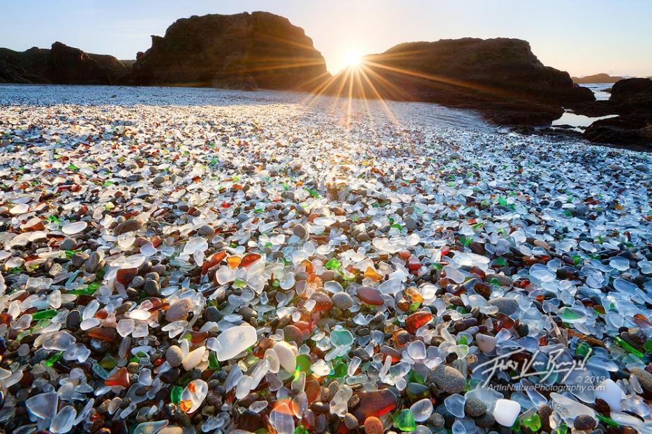 glass beaches