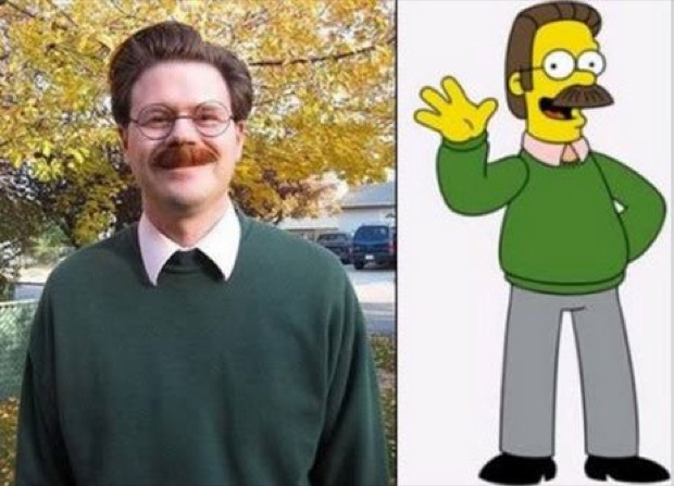 ned flanders simpsons