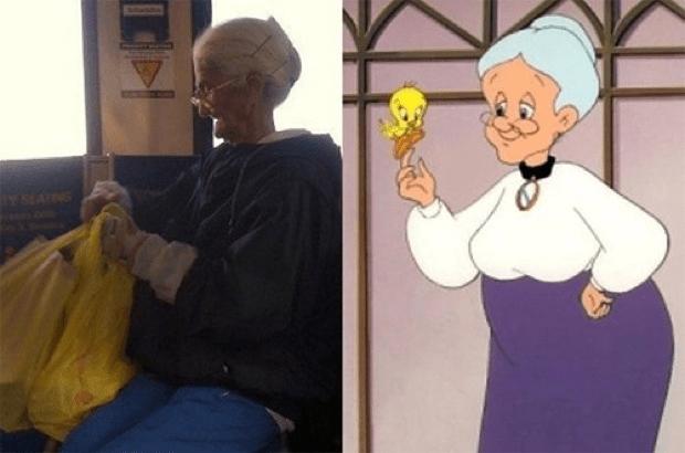 tweety grandma