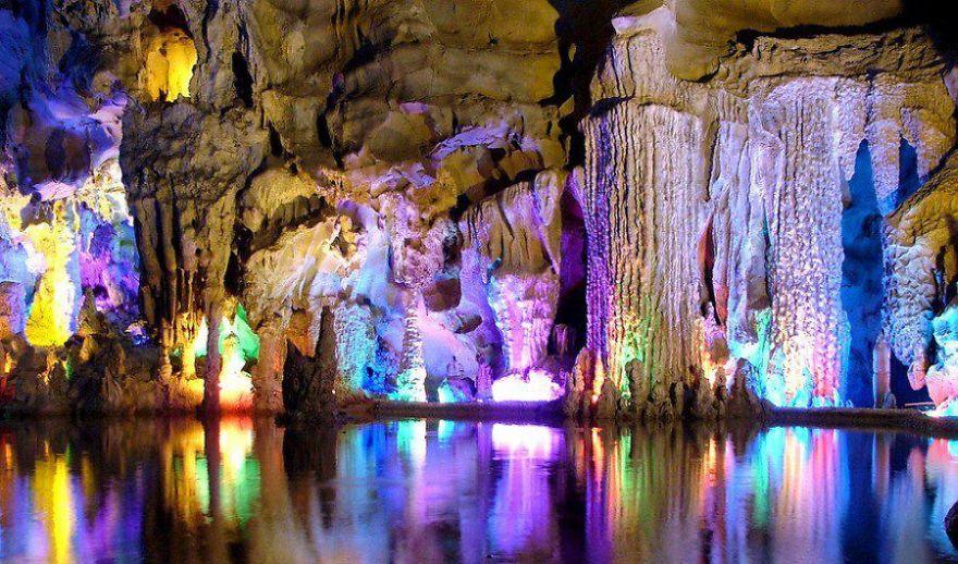 reed flute mağarası çin