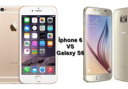Samsung Galaxy S6 ve iPhone 6 Karşılaştırma
