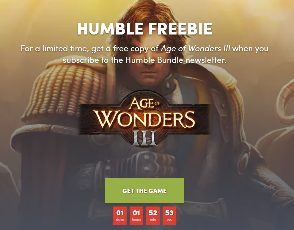 Age of Wonders 3 Humble Bundle